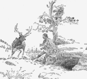 Illustration by Charles M. Russell